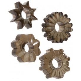Комплект из четырех дымчатых колец BASIC
